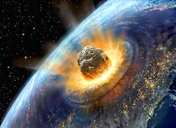 Un astéroïde va frapper la terre en 2030