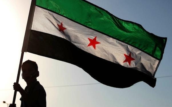 drapeau syrie rebelle