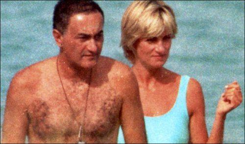Lady Diana et Dodi Al-Fayed