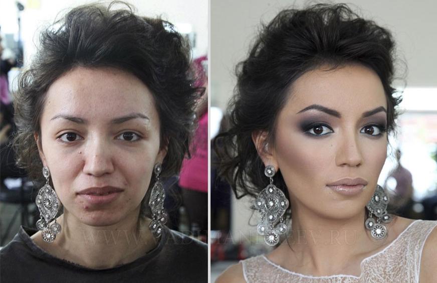 Préférence Maquillage : 16 femmes avant / après (et même des hommes !) PY34