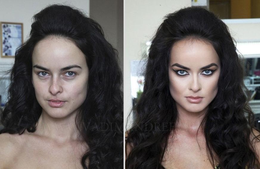 russe,avant,apres,maquillage,9