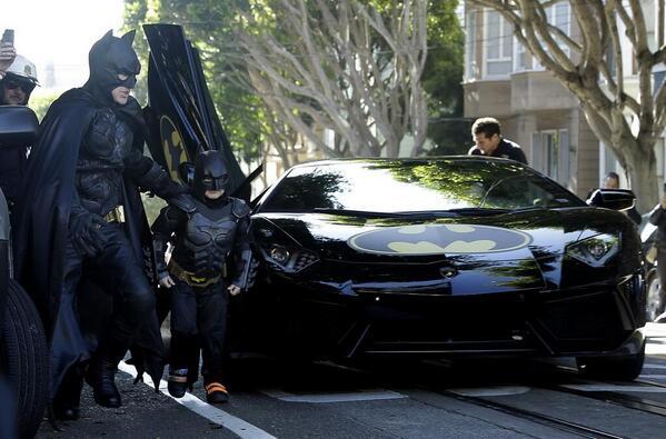Quand San Francisco se transforme en Gotham City pour un en