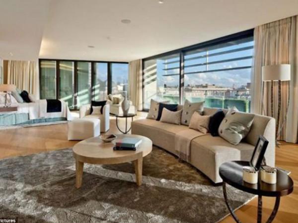 entrez dans l 39 appartement le plus cher de londres. Black Bedroom Furniture Sets. Home Design Ideas