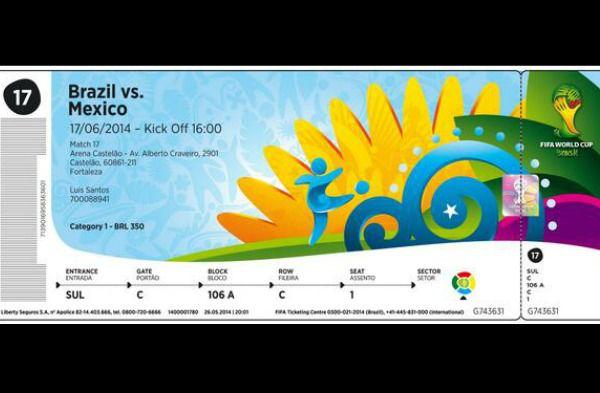 Le billet pour la coupe du monde d voil - Billet coupe du monde 2015 ...