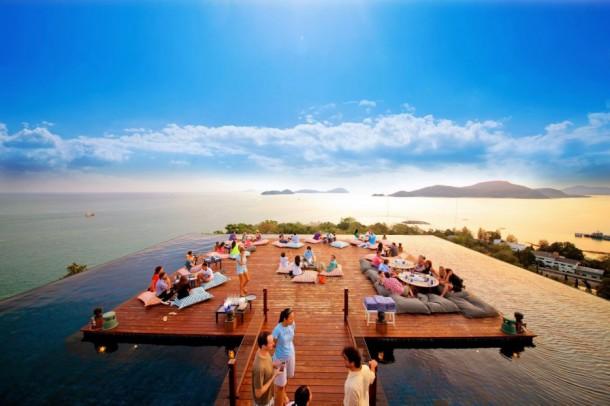 Photos les plus belles terrasses sur les toits - Les plus belles terrasses ...