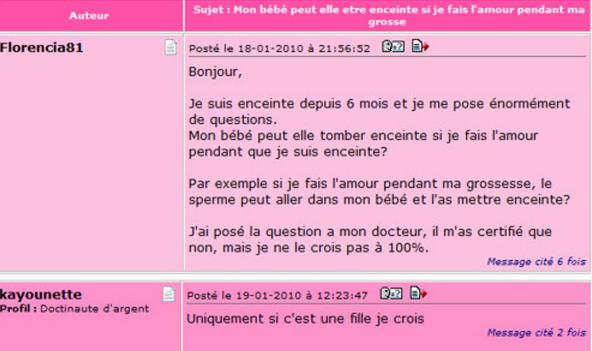 Rencontre internet forum doctissimo