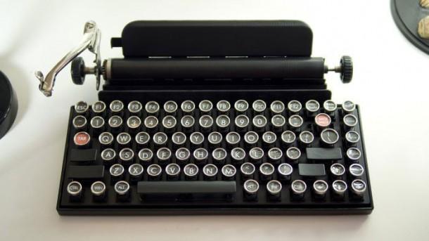 ipad machine à écrire