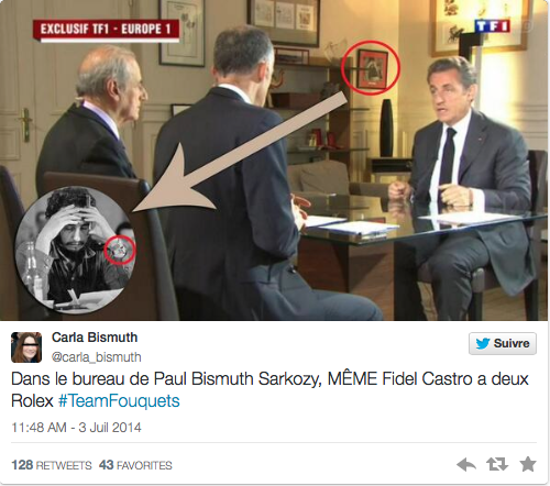 Nicolas Sarkozy Tweet