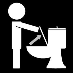 15 phrases que tous les mecs r vent d entendre de la for Lunette des toilettes