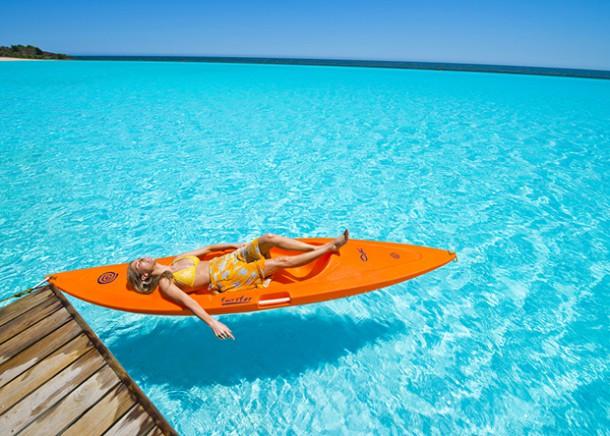 Venez admirer crystal lagoon la plus grande piscine du for La plus grande piscine du monde