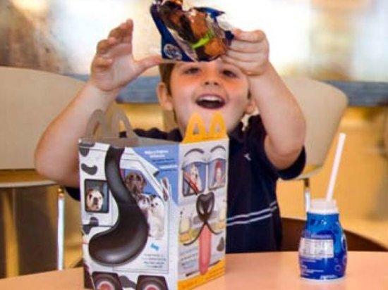 McDonald est le plus grand distributeur du monde de jouets