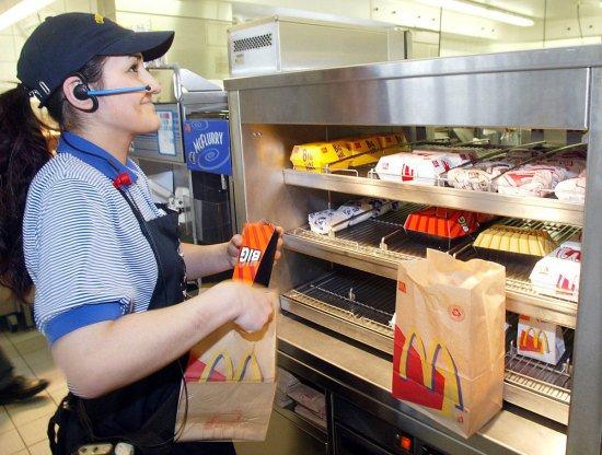 D'aprés les statistiques, 1 travailleurs américains sur 8 est employé chez McDonald.