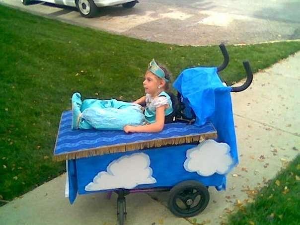 D couvrez les dr les de costumes d 39 une petite fille en for Homemade halloween costumes for 10 year olds