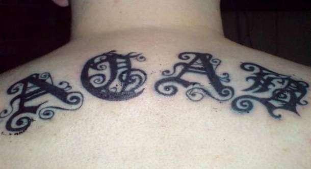Decouvrez Ce Que Ces 15 Tatouages De Detenus Signifient Les Codes