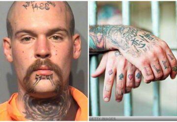 signification tatouages détenus