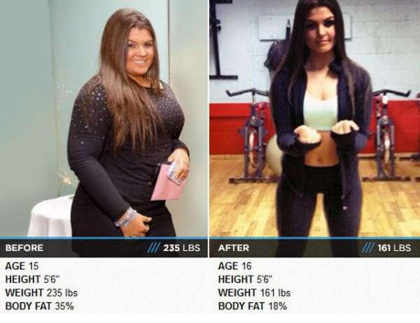 как похудеть за месяц подростку 14 лет