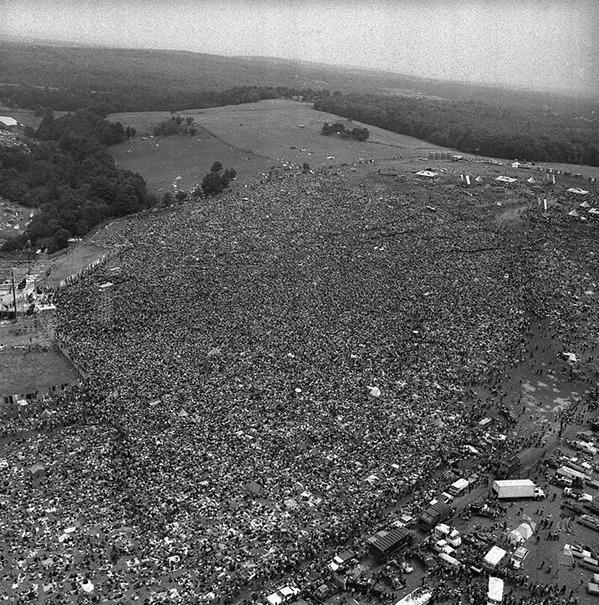 Première édition de Woodstock, 1969