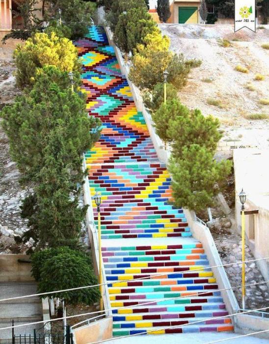 escaliers de la paix Syrie