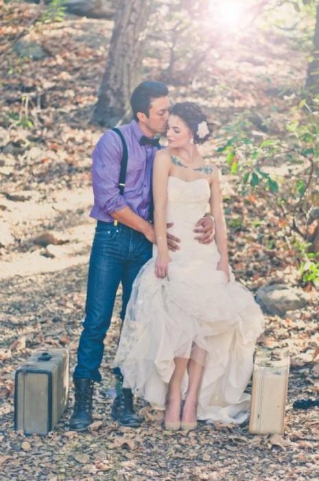 30 mariées qui vont vous prouver que mariage et tatouage ne sont pas incompatibles ! Mt5-465x700