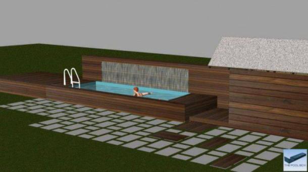 Quand un conteneur devient une somptueuse piscine for Isoler un conteneur