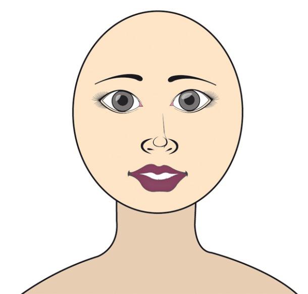ce que la forme de votre visage r v le de votre personnalit. Black Bedroom Furniture Sets. Home Design Ideas