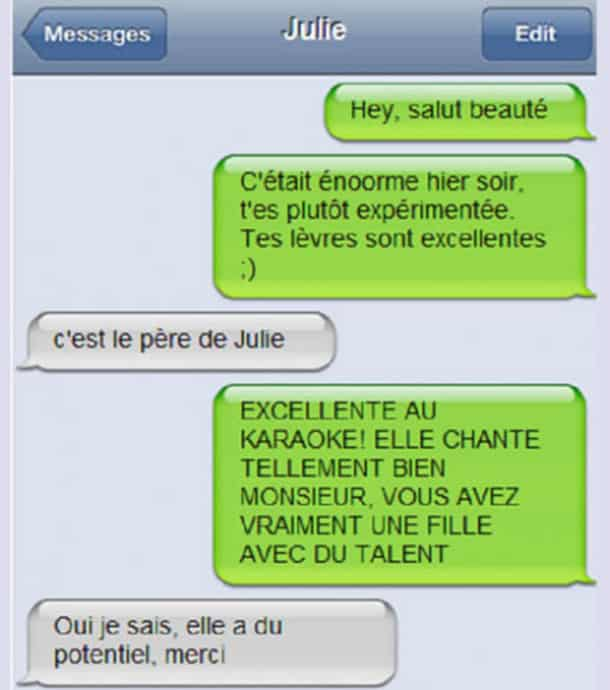 Super Top 20 des pires SMS de drague ! RU83