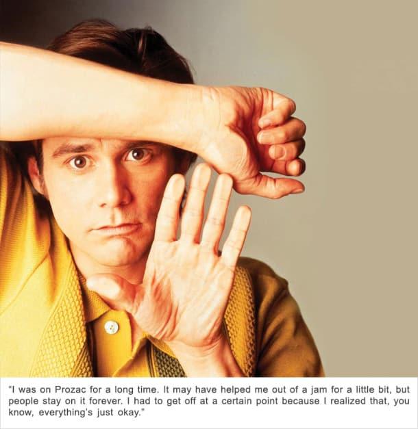Jim Carrey - Dépression