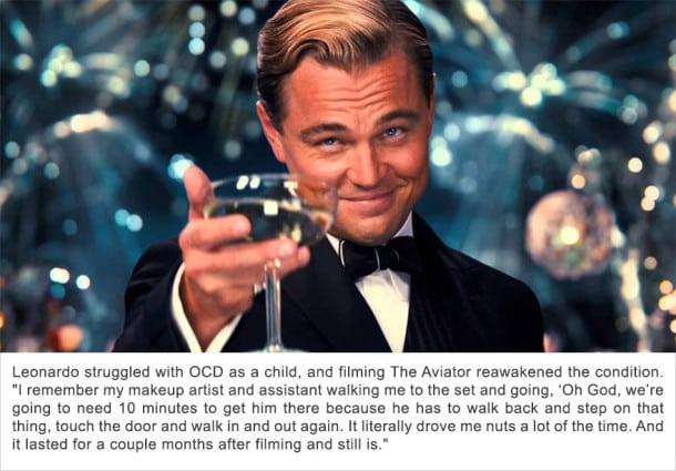 Léonardo DiCaprio - Trouble Obsessionnel Compulsif (TOC)