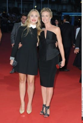 Alexandra Lamy et Chlo� Jouannet
