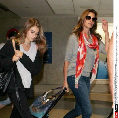 Cindy Crawford et Kaia
