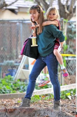 Jennifer Garner et Violet Affleck
