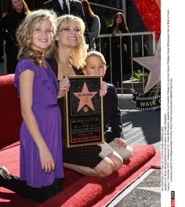 Reese Witherspoon et Ava Philippe