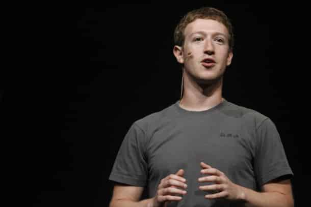 Facebook CEO Mark Zuckerberg delivers a keynote during the Facebook f8 Developer Conference at the San Francisco Design Center in San Francisco on September 22, 2011 in California. AFP PHOTO / Kimihiro Hoshino (Photo credit should read KIMIHIRO HOSHINO/AFP/Getty Images)