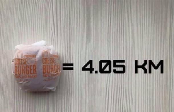 sport contre malbouffe combien de kilom tres devez vous courir pour liminer les calories de. Black Bedroom Furniture Sets. Home Design Ideas
