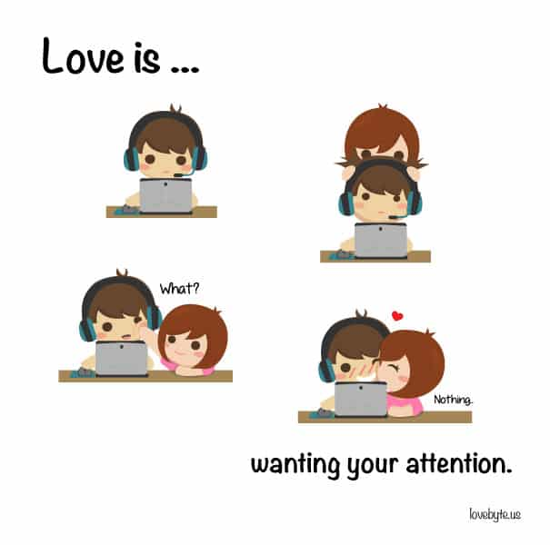 """""""Vouloir ton attention"""""""