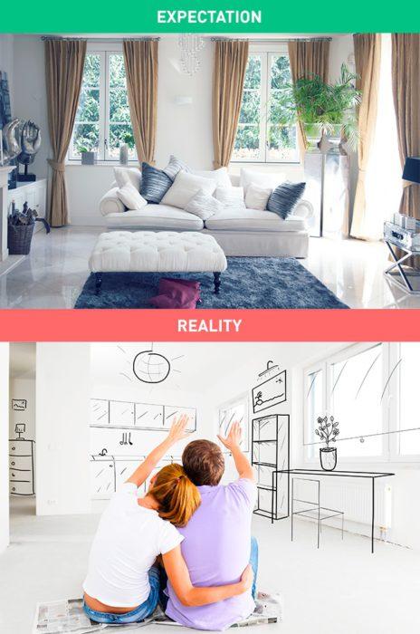 la vie des femmes ce qu 39 elles attendent vs la r alit. Black Bedroom Furniture Sets. Home Design Ideas