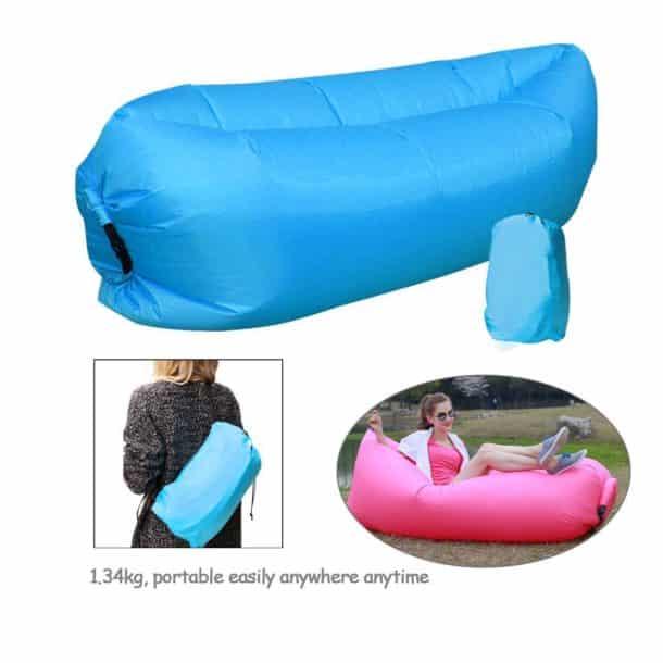 ce fauteuil gonflable qui s 39 emporte partout est une v ritable merveille pour vos siestes au soleil. Black Bedroom Furniture Sets. Home Design Ideas