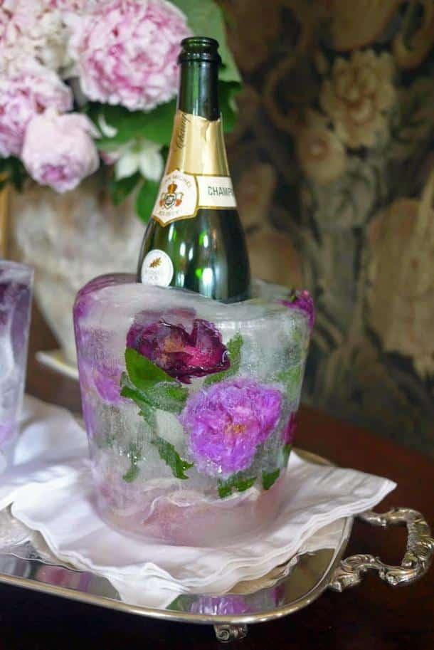 DIY Faites Votre Propre Seau Champagne En Glace Et