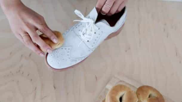 chaussure taches