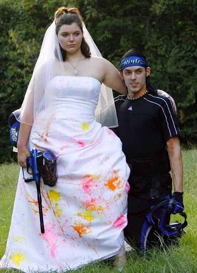 20 robes de mari es qui nous prouvent que le mariage c for Bas les robes de mariage arkansas
