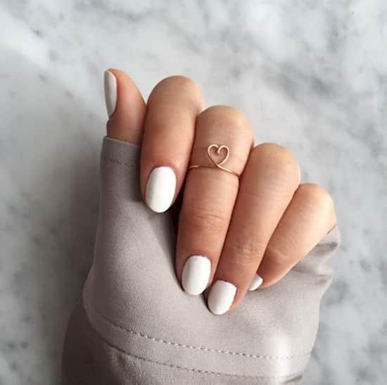 vernis blanc