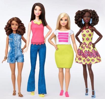 poupée barbie grande-taille