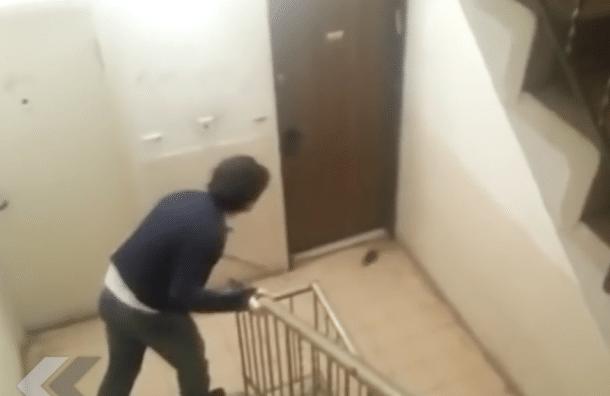 il se fait attaquer par un rat vid o. Black Bedroom Furniture Sets. Home Design Ideas