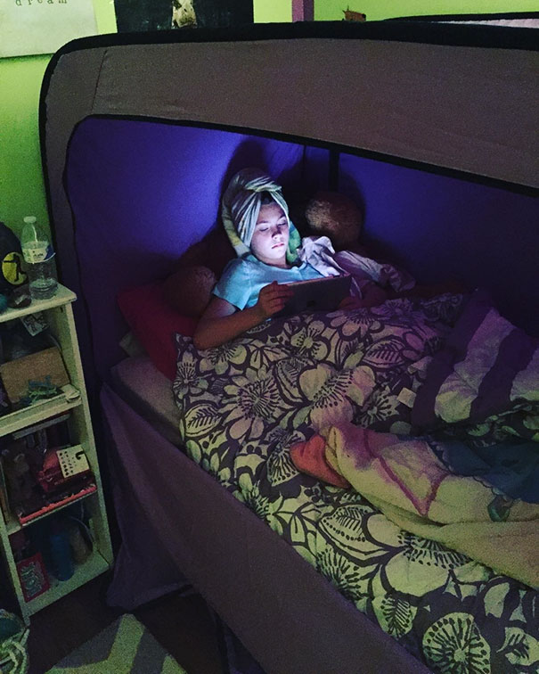 Privacy Bed