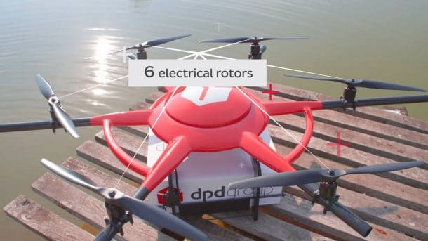 DPD group drone