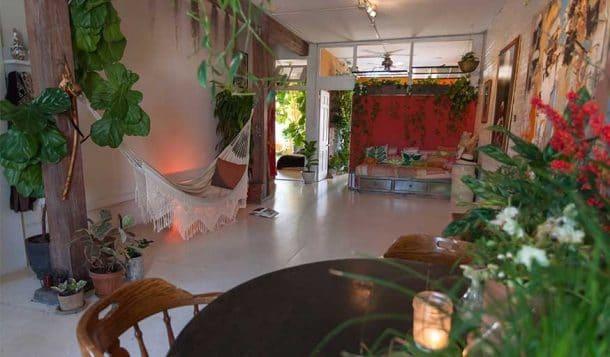 cette jeune femme entretient plus de 500 plantes vertes. Black Bedroom Furniture Sets. Home Design Ideas