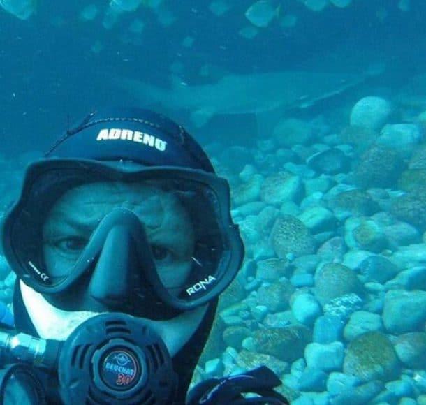 7 ans d'amitié entre un requin de Port Jackson et le plongeur Rick Anderson