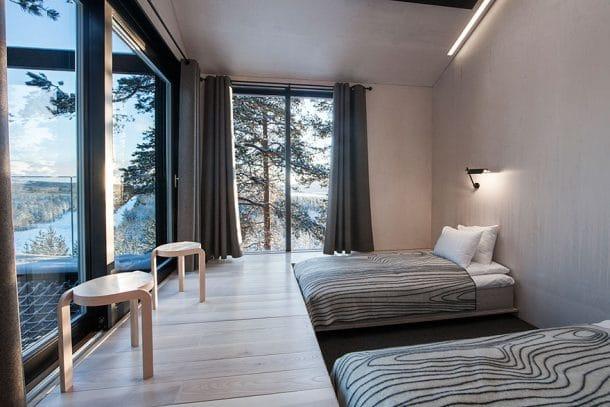 Hôtel dans les arbres en Suède