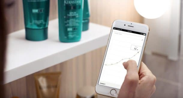 Hair Coach et application Withings