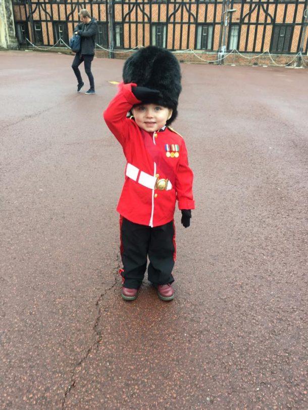 Marshall Scott : soldat de la garde royale britannique